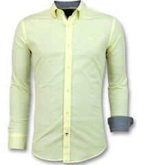 gentile bellini italiaanse blouse heren lange mouw