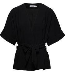 bedou jacket zomerjas dunne jas zwart stylein