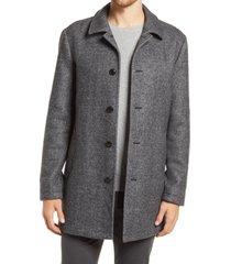 men's bonobos wool blend car coat, size x-large - grey