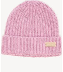 women's chunky beanie hat lilac one size from sole society