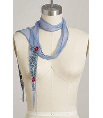 rosebud scarf