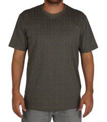 camiseta especial lost risca de giz saturno - verde - masculino - dafiti