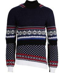 regenerated wool knit sweater