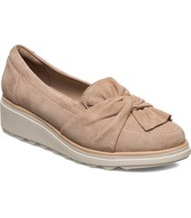 sharon dasher loafers låga skor beige clarks