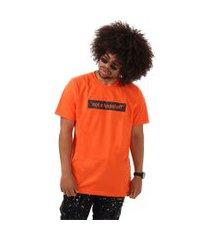 camiseta original synthetic inc. - sync - laranja