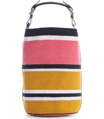 colville cylinder maxi satchel bag