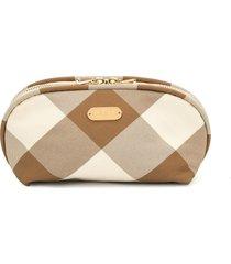 0711 beige vi cosmetic bag - neutrals
