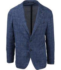 tagliatore unstructured check blazer