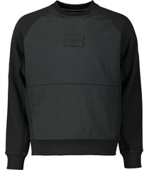 calvin klein pullover - slim fit - zwart