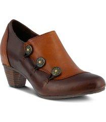 l'artiste women's greentea vintage - like inspired shooties women's shoes