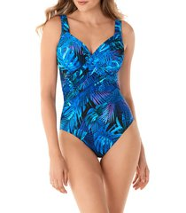 women's miraclesuit royal palms one-piece swimsuit