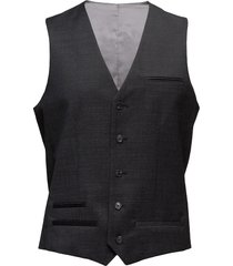 breck stretch suit gilet grijs matinique