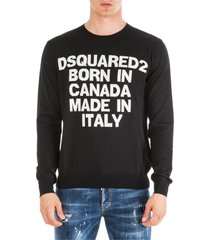 dsquared2 born in canada made in italy sweater