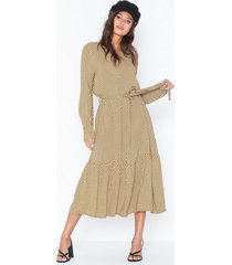 moss copenhagen charlotte morocco ls dress aop loose fit dresses