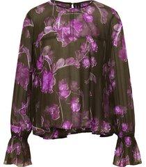 blouse volant details