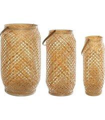 lampion bambusowy 3 szt. watamu