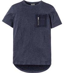 t-shirt slim fit (blu) - rainbow