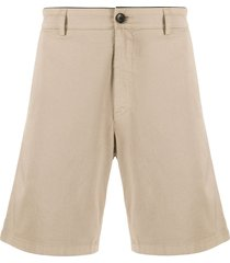 department 5 straight-leg bermuda shorts - neutrals