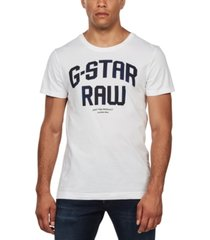 g-star raw men's logo graphic t-shirt
