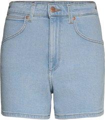 mom short shorts denim shorts blå wrangler