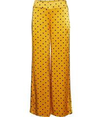 ruby trousers wijde broek geel just female