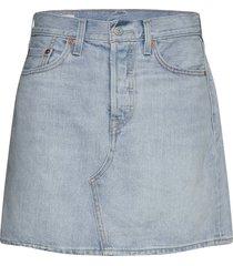 hr decon icnic bfly skrt check kort kjol blå levi´s women