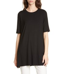 women's eileen fisher stretch tencel lyocell tunic, size xx-small -