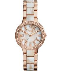 reloj fossil para mujer - virginia  es3716