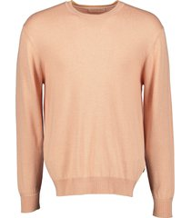scotch & soda pullover - slim fit- zalm