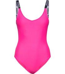 cuba swimsuit baddräkt badkläder rosa svea