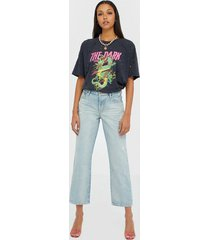one teaspoon kansas truckers mid rise jeans straight