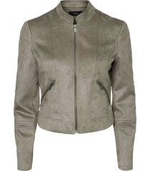 jacka vmsummersiv faux suede short jacket