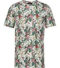 jprlee bla. tee ss crew neck t-shirts short-sleeved multi/mönstrad jack & j s