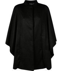 max mara stand-up collar cape