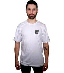 camiseta manga curta skate eterno classic branco - kanui