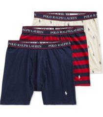 polo ralph lauren men's 3-pack stretch boxer briefs