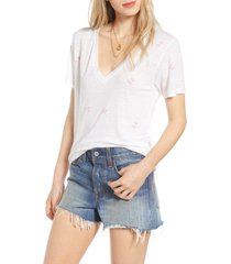 women's rails cara tee, size large - white