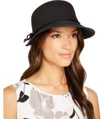 nine west classic braid framer hat