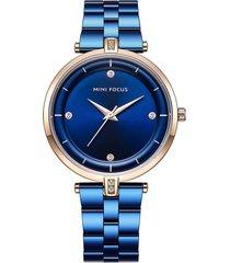 reloj análogo f0120l-3 mujer azul