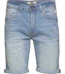 denim shorts - w. scratches jeansshorts denimshorts blå blend