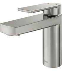 misturador monocomando para banheiro mesa bica baixa argon níquel escovado - 00847744 - docol - docol