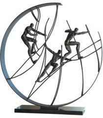 global views climb to the top sculpture