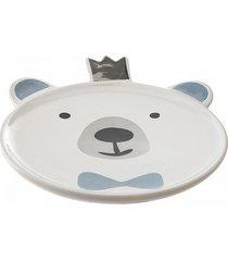 talerz ceramiczny dla dzieci bear