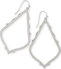women's kendra scott sophee textured drop earrings