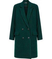 płaszcz casual green