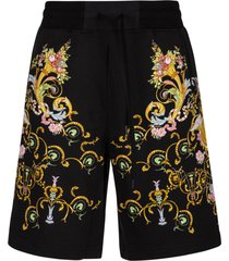 versace jeans couture heavy panel tuileries shorts