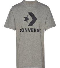 converse star chevron tee t-shirts short-sleeved grå converse