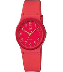 reloj fucsia q&q vp46j832y - superbrands