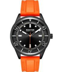 reloj naranja reaction by kenneth cole