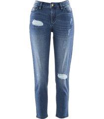 jeans girlfriend 7/8 maite kelly (blu) - bpc bonprix collection